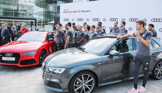 换成宝马!德媒:拜仁最迟在 2025年更换汽车赞助商