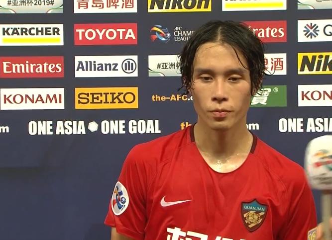 张修维:这个主场不太熟悉,但球迷热情就像在天津