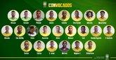 巴西大名单:奥古斯托入选,保利尼奥落选,马尔科姆首次入选