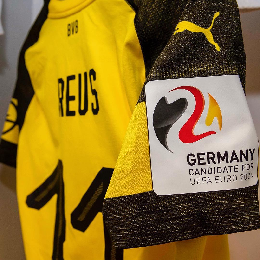 申办 2024年, 德甲球队今日将身着特制球衣