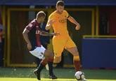 佩罗蒂屡屡制造威胁,罗马客场0-2不敌博洛尼亚