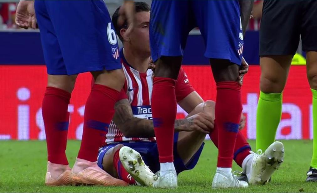 官方:吉梅内斯因肌肉轻伤,能够出战周末马德里德比