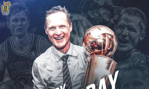 美媒祝主教练史蒂夫-科尔53岁生日快乐