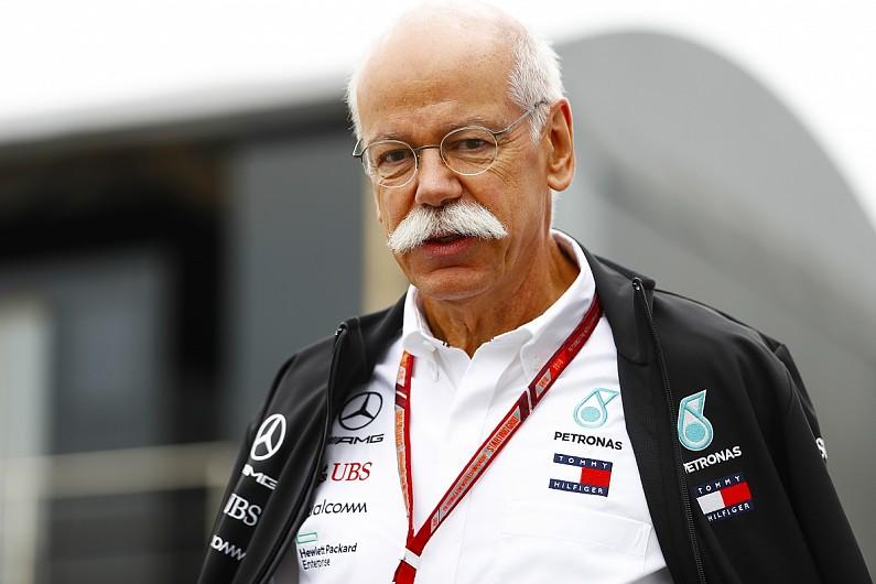 奔驰:蔡澈离任不会影响F1项目,新老板也是F1车迷