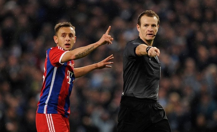 捷克裁判将执法拜仁对阵阿贾克斯欧冠小组赛