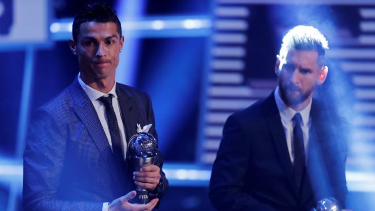 FIFA不满C罗梅西缺席颁奖典礼,将加入强制参加的条款