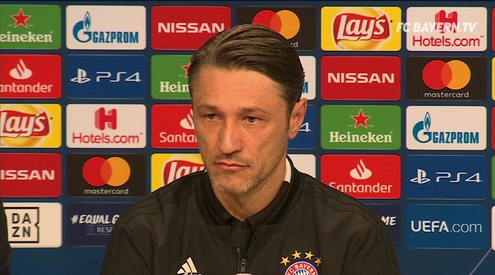 科瓦奇:不能因为过去两场比赛就批评拜仁