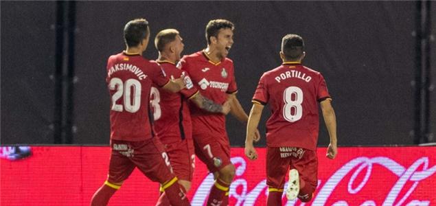 西甲:戈麦斯破门马塔扳平,塞尔塔1-1赫塔菲
