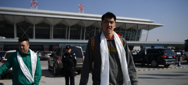 山东队抵达备战季前赛, 朱荣振缺席