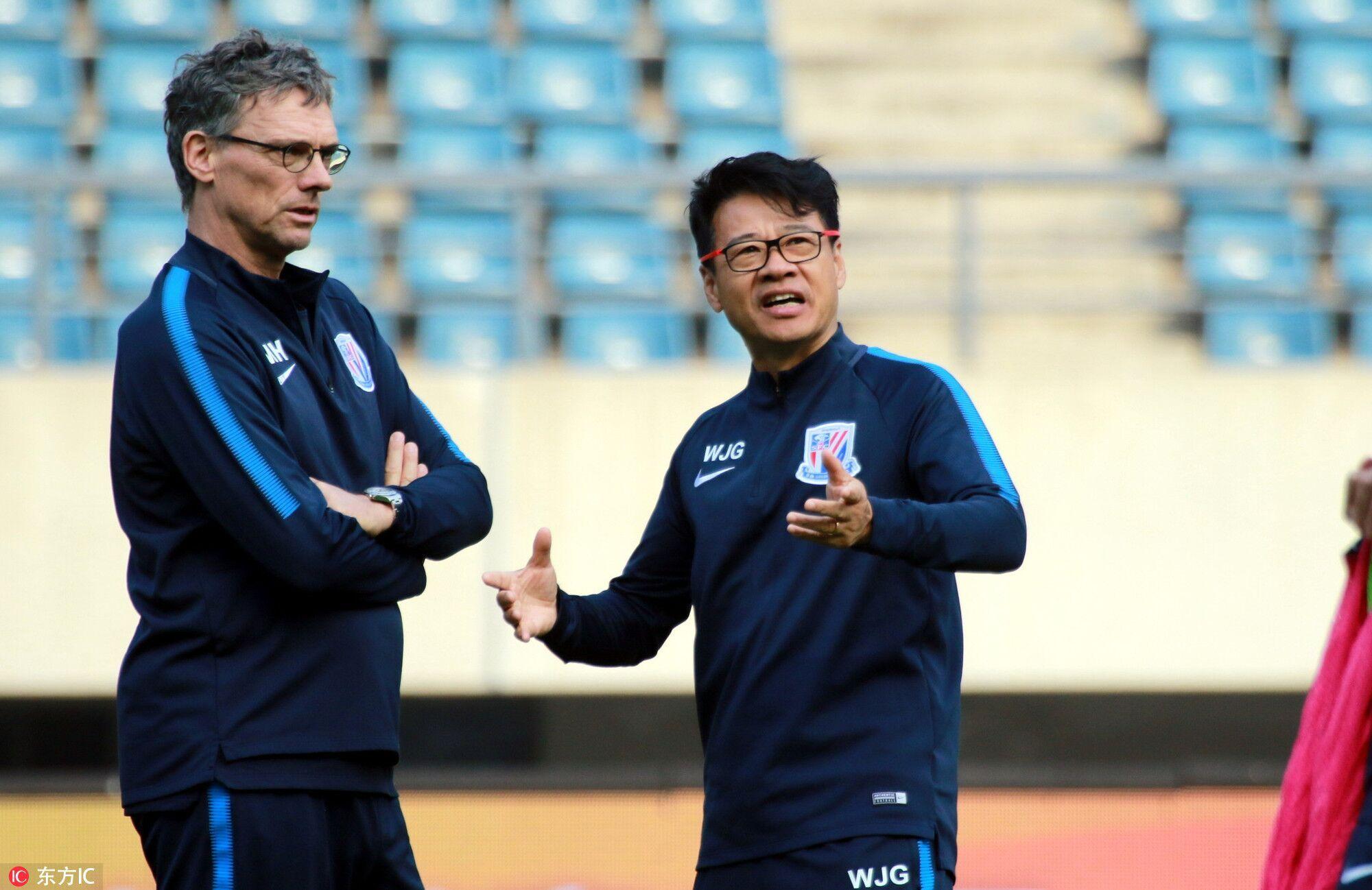 吴金贵:不会因政策变化而改变对年轻球员的使用