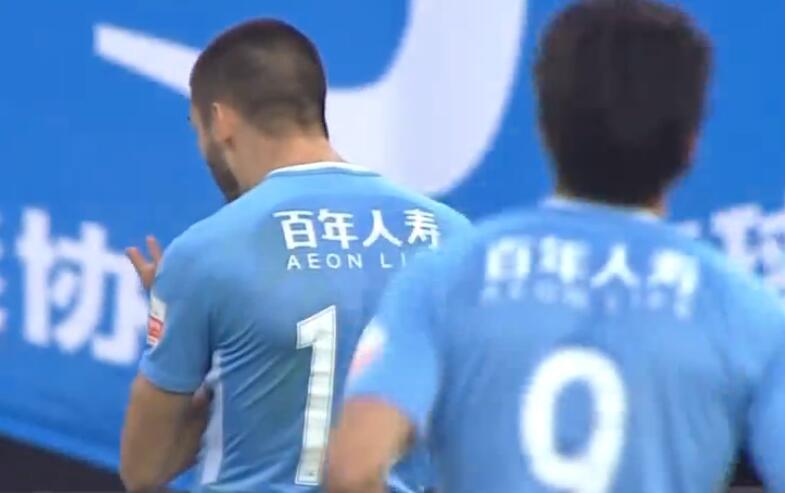 GIF:世界波!卡拉斯科任意球破门,一方2-1苏宁