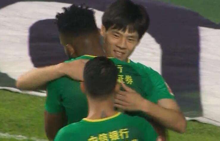 GIF:刘欢助攻巴坎布包抄梅开二度,富力0-3国安