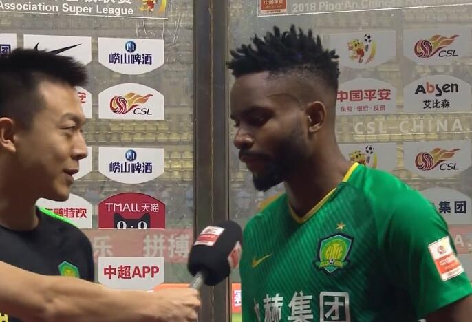 巴坎布:感谢队友的帮助,很高兴取得进球且没有失球