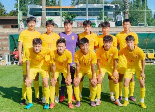 热身赛:刘超阳两球,国青4-0再胜济州联预备队