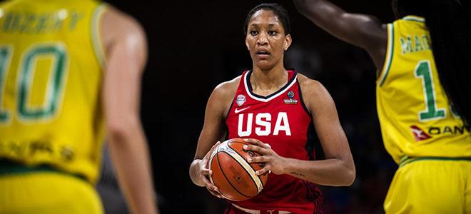 WNBA状元秀携手李珊珊加盟陕西女篮