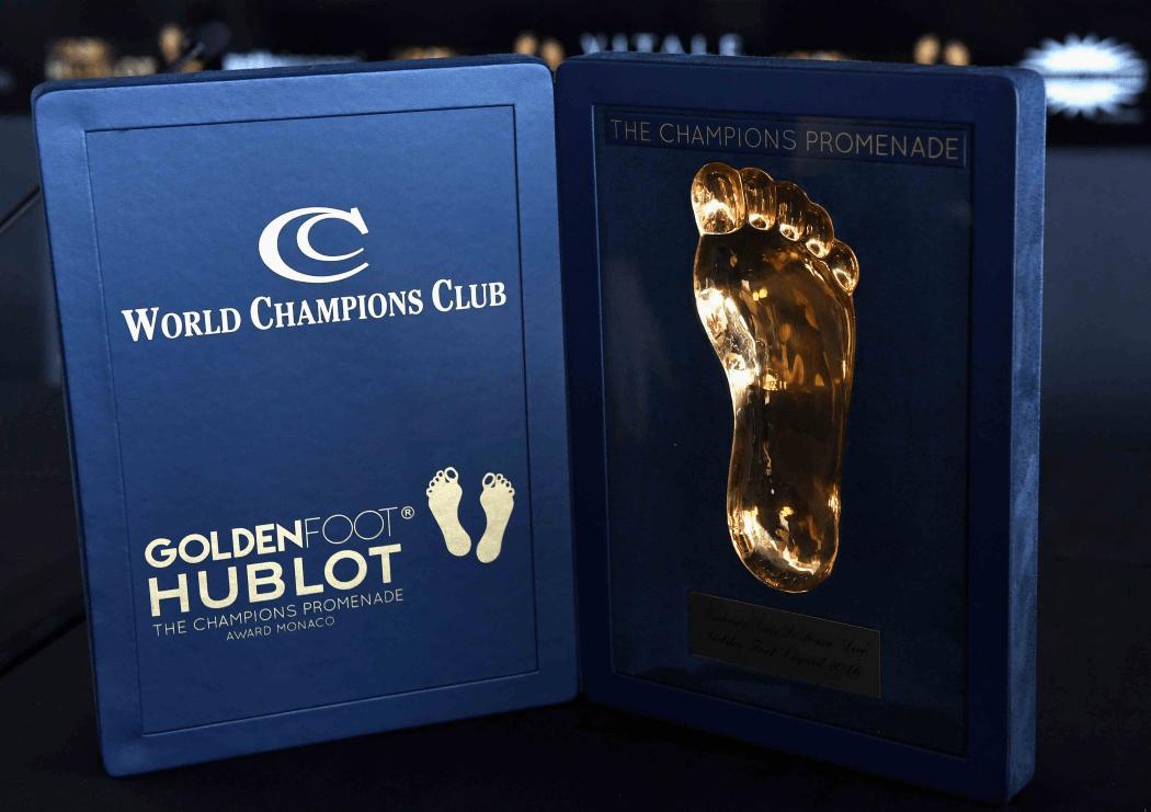 2018年金足奖候选名单公布:梅西、C罗领衔