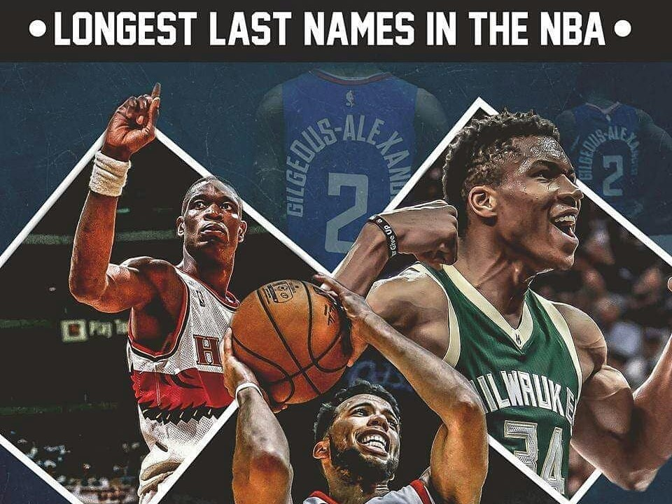 主持人的噩梦!盘点那些名字最长的NBA球员