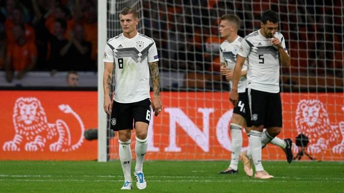 效率低下, 近 5场比赛德国射门 107次, 仅进 2球