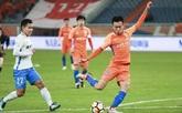 半场:王彤助攻佩莱头球破门,鲁能1-0泰达
