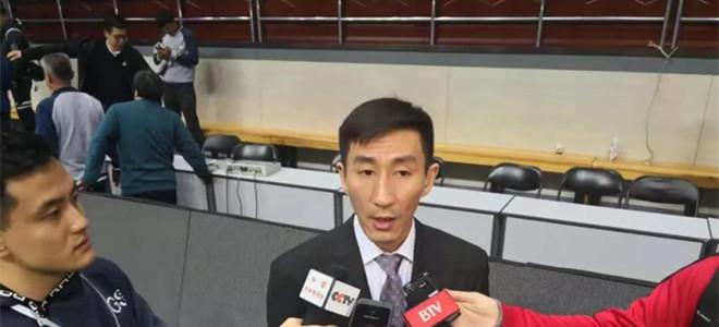 张云松:球队尚处于磨合期,盼队员自动把握机会