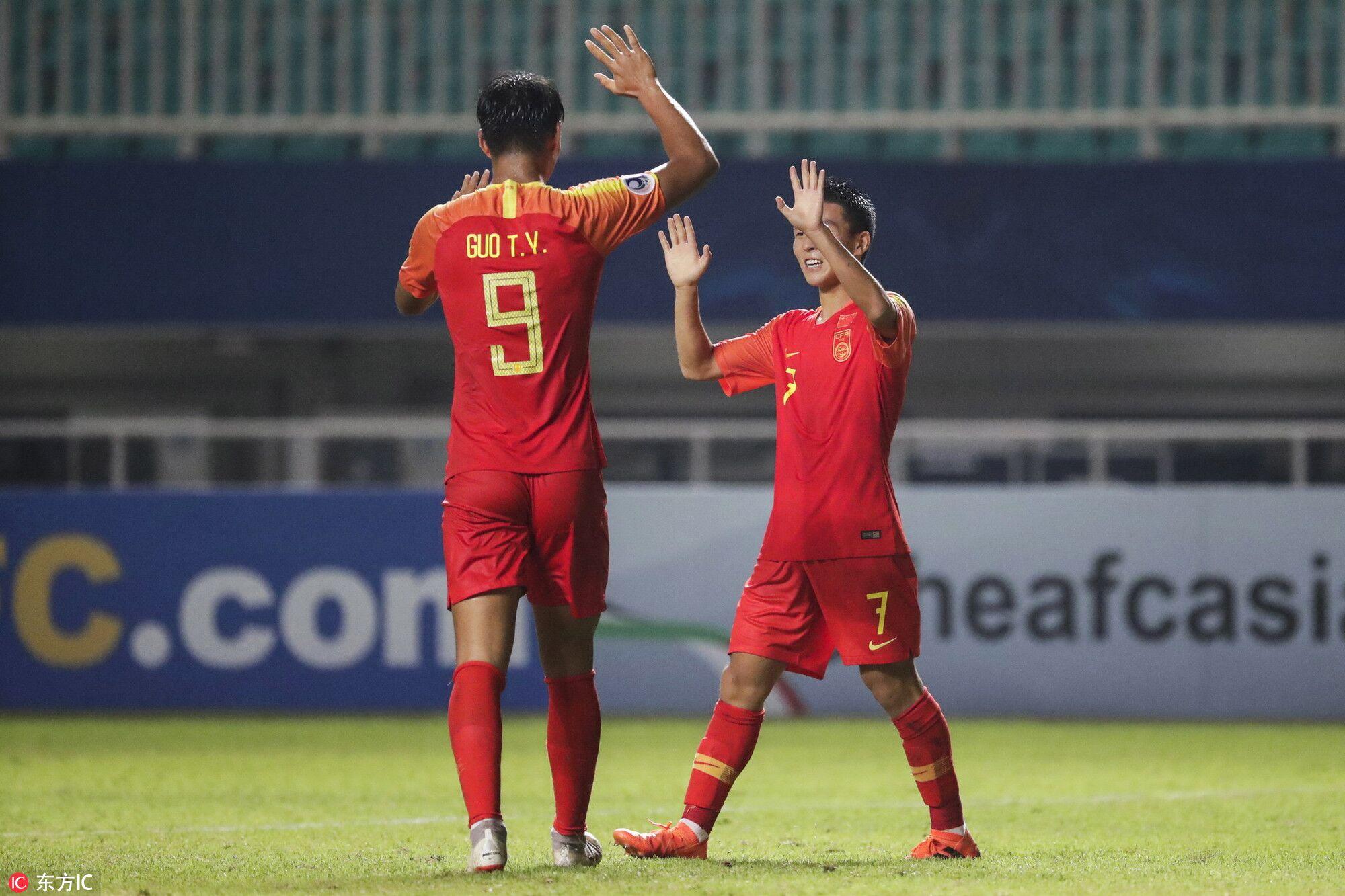 终结尴尬纪录!国青胜马来西亚结束亚青赛8场不胜