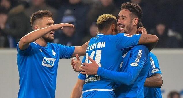 德甲综述:奥堡狼堡客胜对手, 霍芬海姆主场大捷