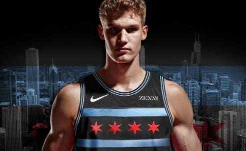 公牛官方今日公布球队本赛季城市版特别球衣
