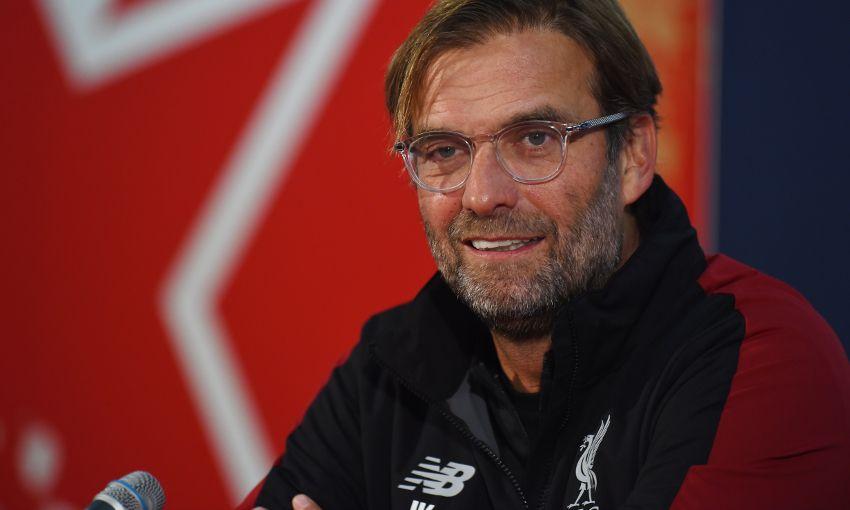 克洛普:享受执教豪门利物浦,因为常常有大场面比赛