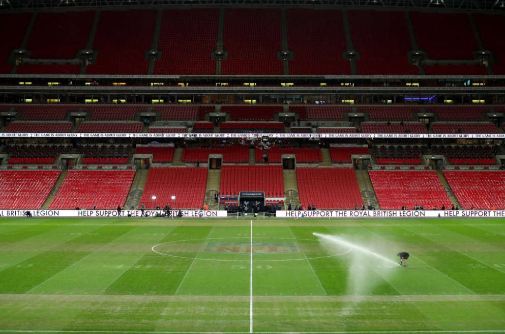 UEFA:温布利草坪通过检查,比赛如期进行