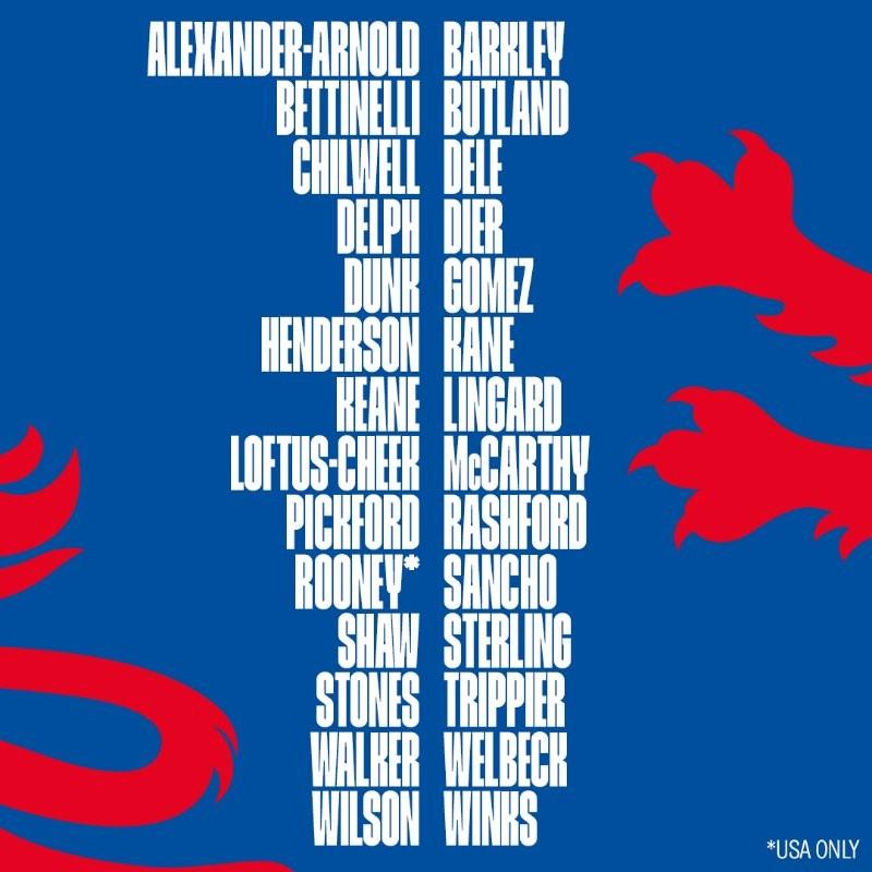 英格兰新一期名单:鲁尼回归出战告别赛,威尔逊首次入选