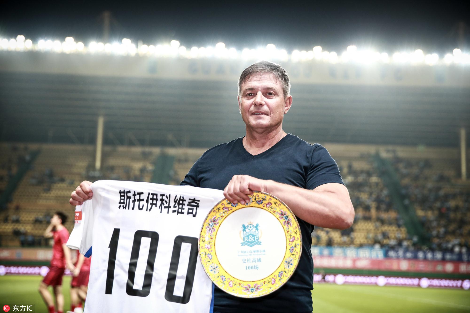 斯托:争取周日用胜利收官,姜至鹏是洲际级的球员