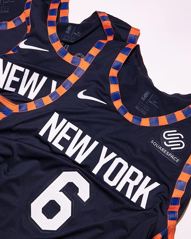 尼克斯官方发布2018-19赛季新款城市版球衣