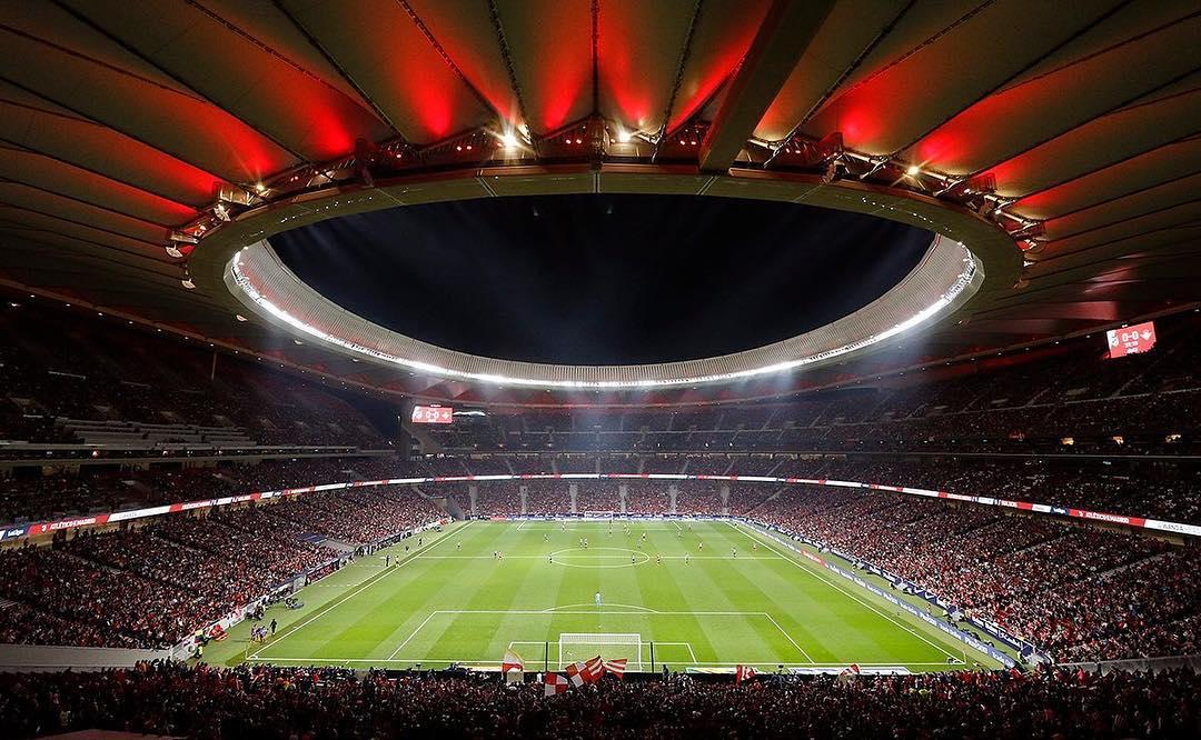 2002年世界杯韩国 最高规格,万达大都会将在马竞巴萨赛前展示超级Tifo