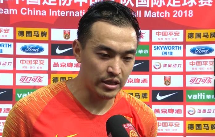 邓普西 冯潇霆:最终比分有些遗憾,我们还是创造了机会