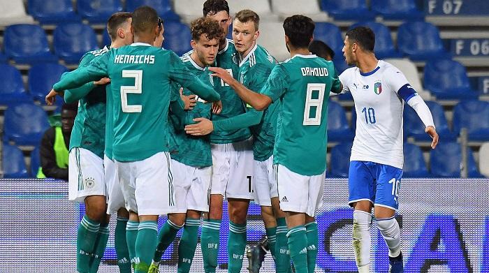 瓦尔德施密特两球, 德青队逆转击败意大利青年队