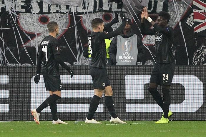 场均三球,法兰克福创德甲球队欧联杯进球纪录