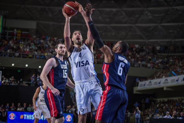 世初赛第二场战败!美国男篮兵败阿根廷