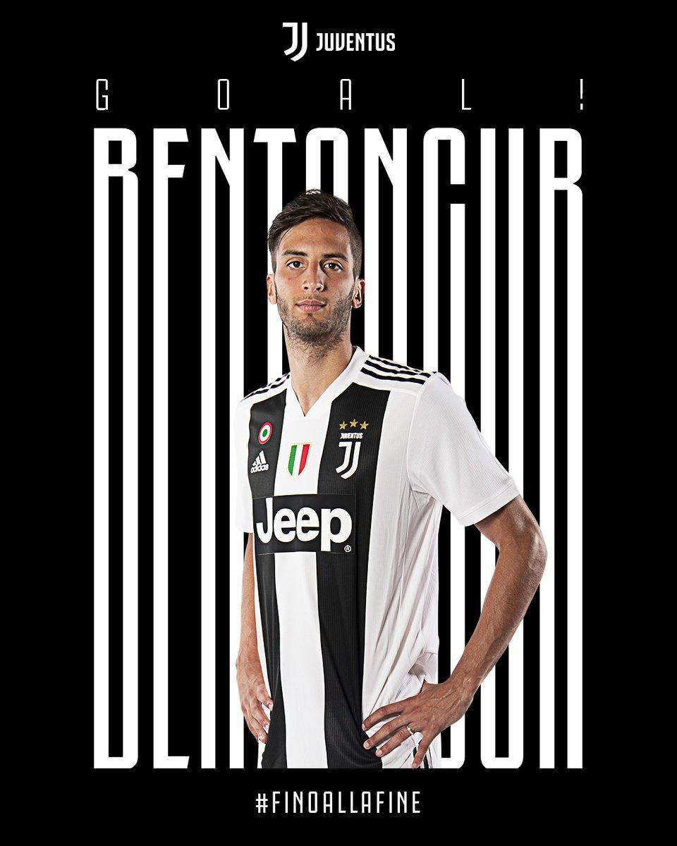 GIF:本坦库尔左脚贴地斩,尤文1-0佛罗伦萨