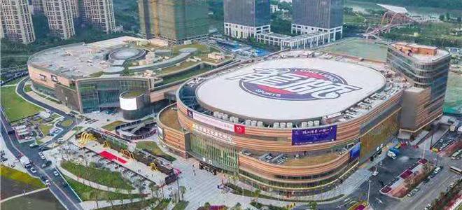 NBA级别场馆佛山文体中心世预赛盛装亮相