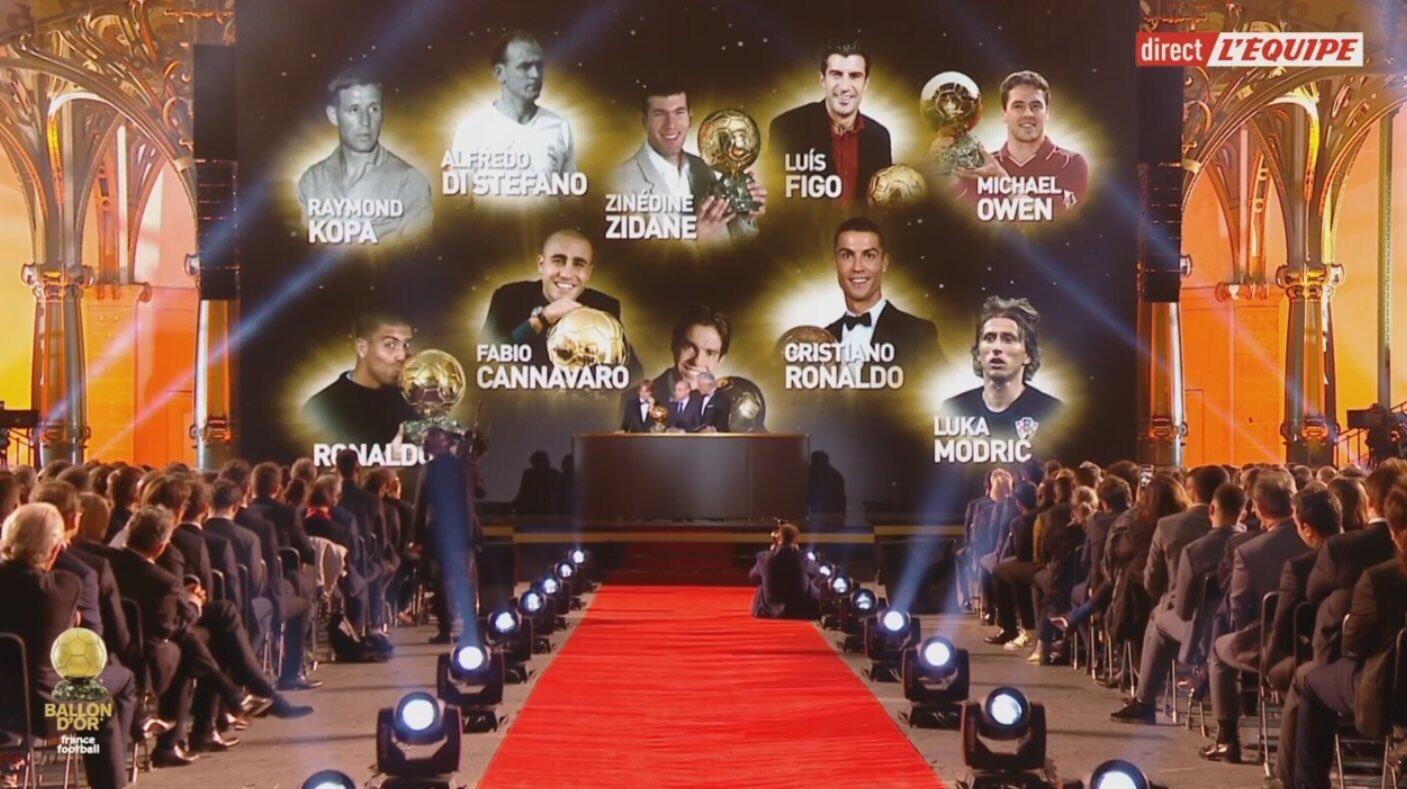 金球之家!10位金球奖得主曾效力于皇家马德里