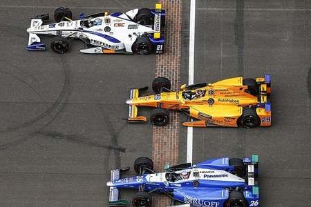 阿隆索的迈凯伦Indy500赛车将使用雪佛兰引擎