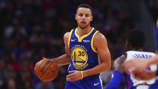 库里第11次单节个人得分领先对手全队,近5个赛季NBA第一