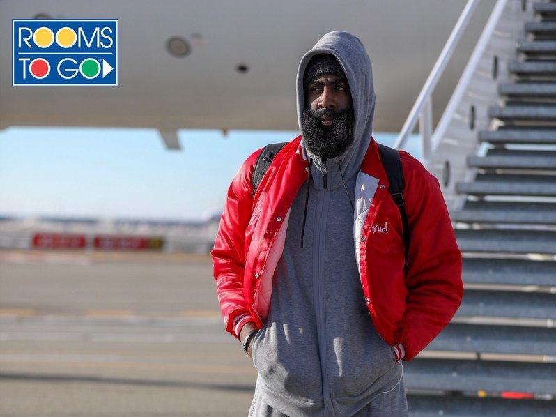 哈登吐槽盐湖城天气:太冷了,绝对不正常