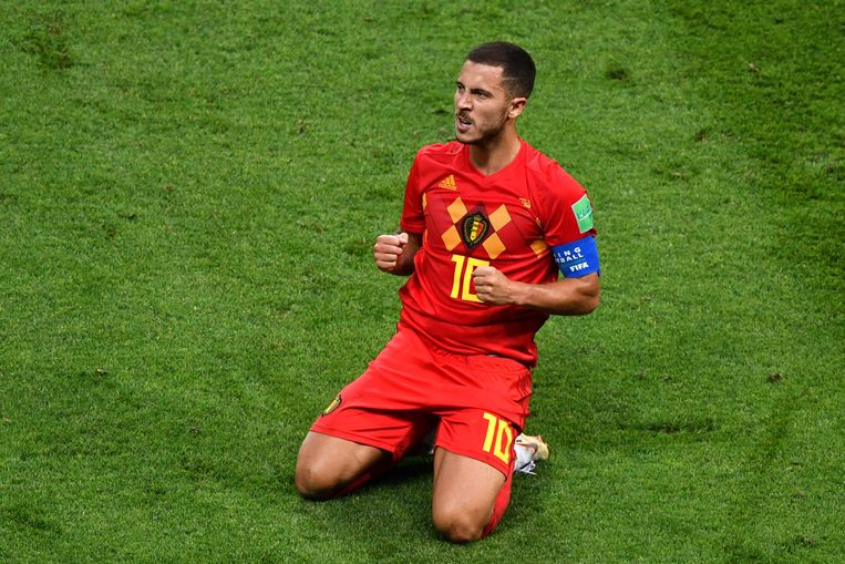 率队夺世界杯第三,阿扎尔成比利时年度最佳男运动员候选