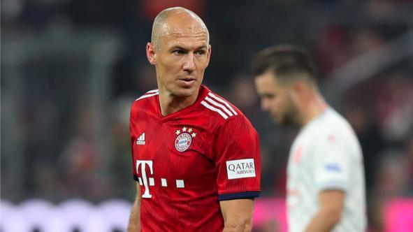 罗本缺席拜仁周四训练,出战纽伦堡成疑