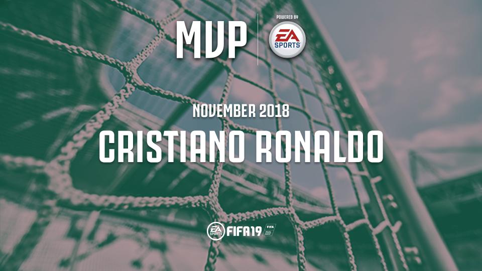 官方:C罗当选尤文图斯11月份队内最佳球员