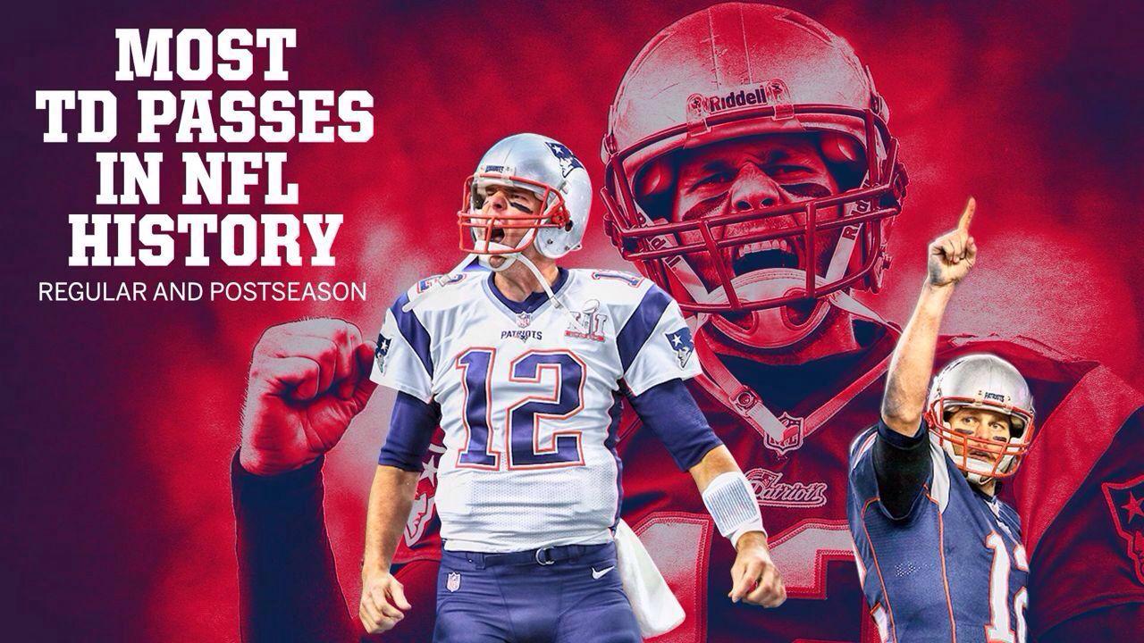 汤姆-布雷迪创NFL达阵数纪录