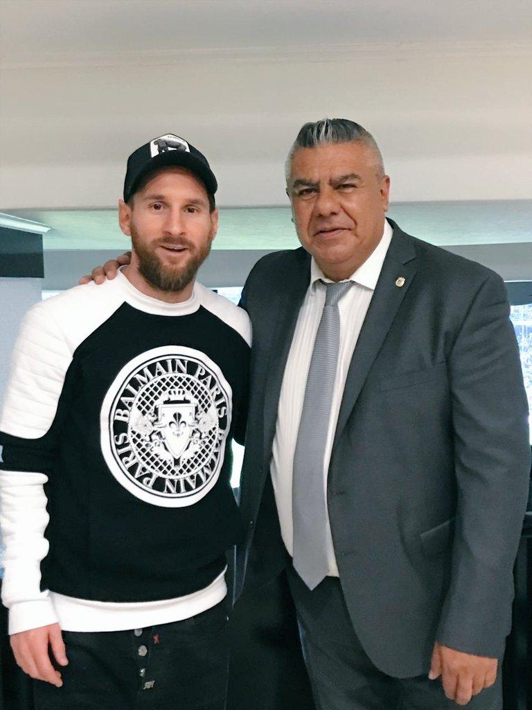 商谈回归国家队?塔皮亚和斯卡洛尼在马德里与梅西会面