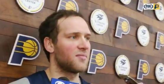 博扬-波格丹诺维奇:对阵雄鹿要有打季后赛的心态