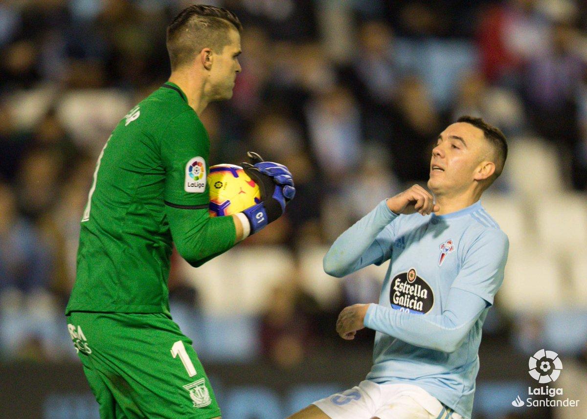 西甲:戈麦斯憾失良机,塞尔塔0-0莱加内斯